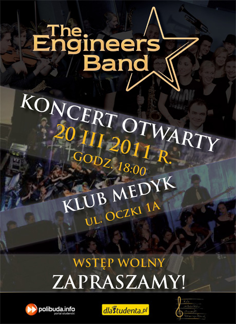 Koncert otwarty, 20 marca 2011 r., Okęcka Sala Widowiskowa, Zapraszamy!